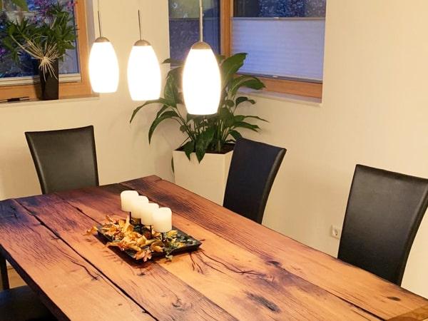 Tische aus Altholz Eiche